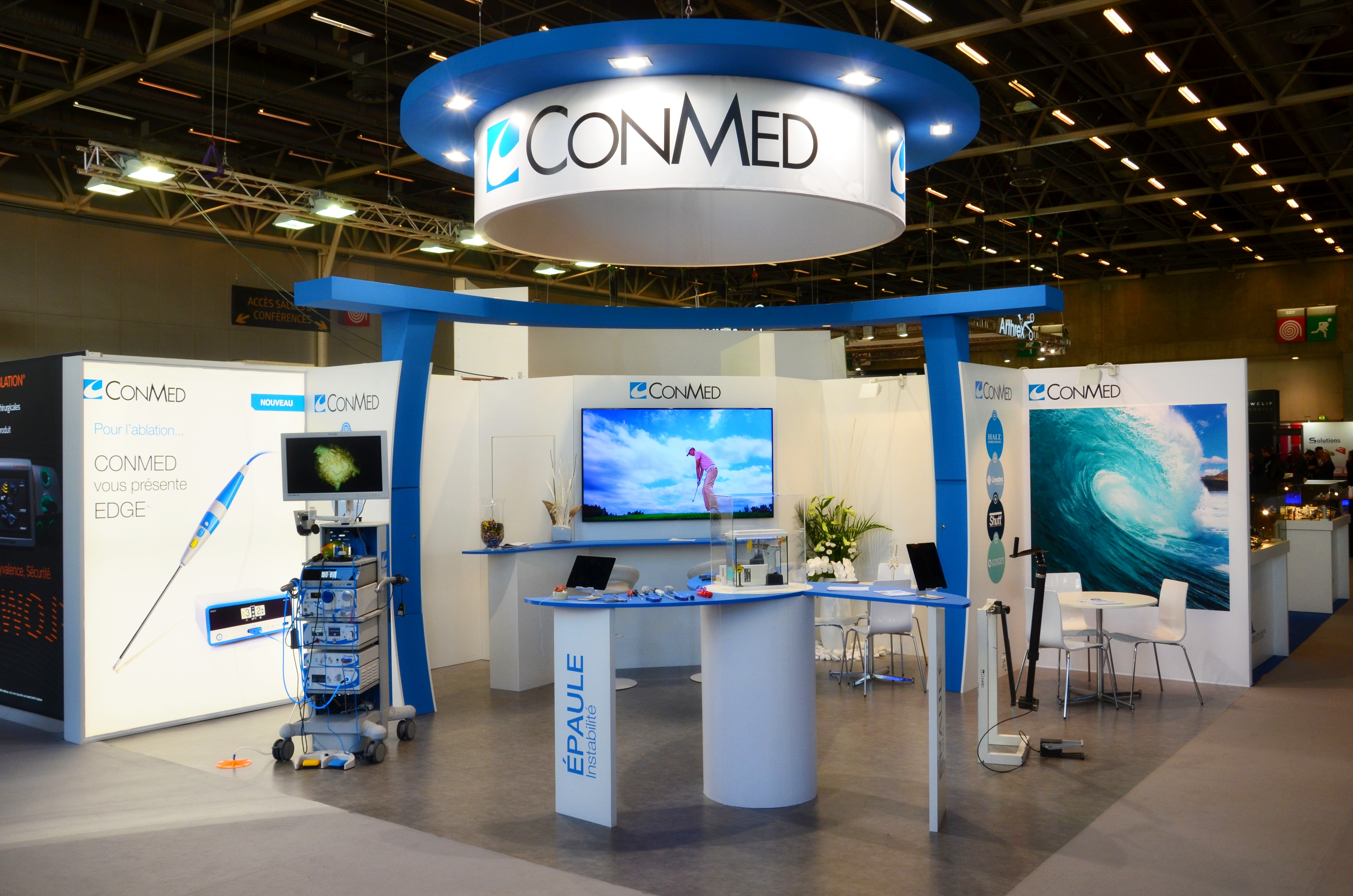 Stand ConMed by aveca Congrès SFA