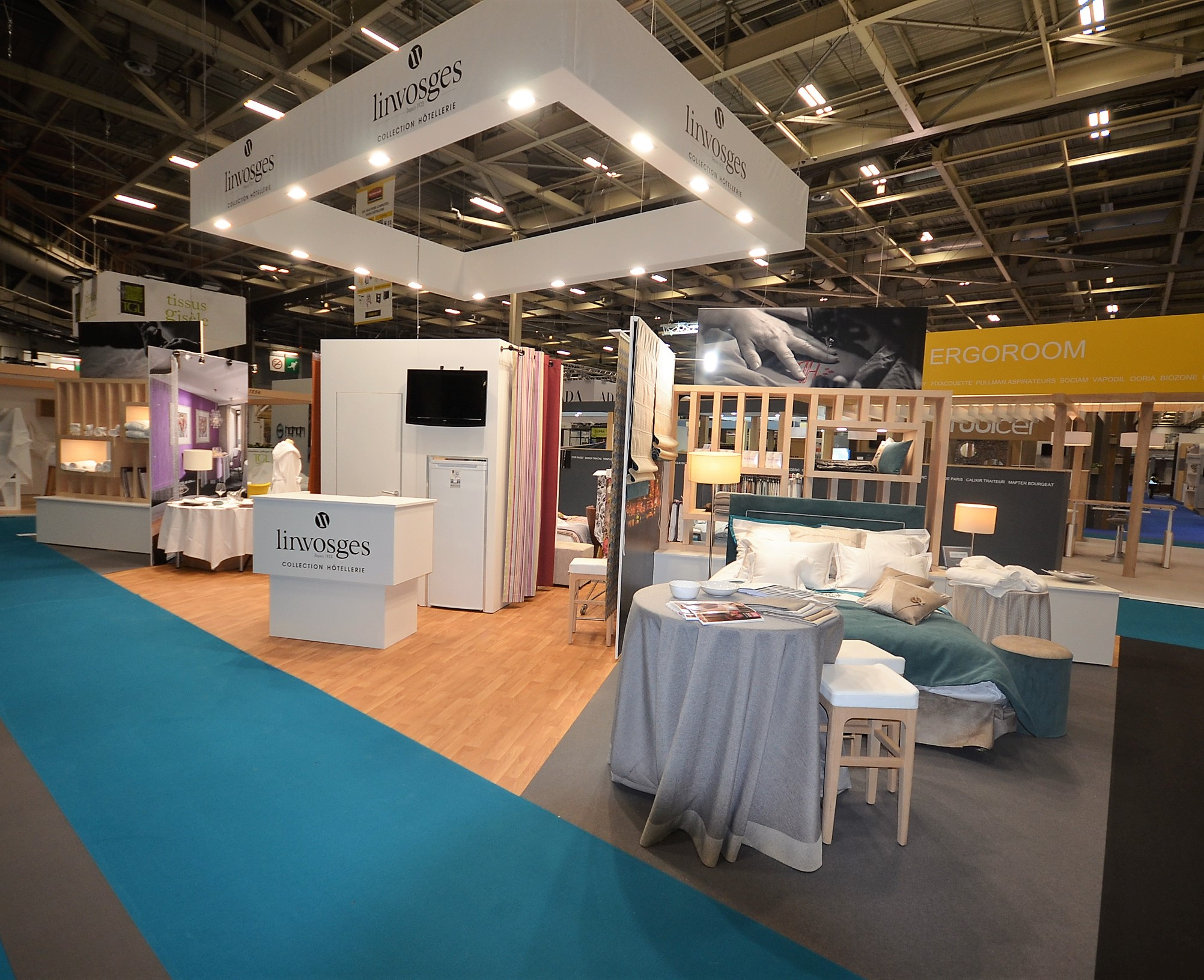 Stand Linvosges by aveca salon Equip Hotel